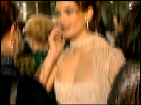 teri hatcher at the 1997 golden globe awards at the beverly hilton in beverly hills california on january 19 1997 - teri hatcher stock-videos und b-roll-filmmaterial