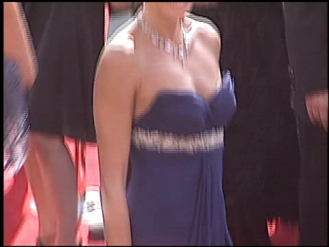 teri hatcher at the 2005 emmy awards entrance at the shrine auditorium in los angeles, california on september 18, 2005. - teri hatcher stock videos & royalty-free footage