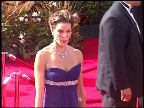 teri hatcher at the 2005 emmy awards entrances at the shrine auditorium in los angeles, california on september 18, 2005. - ceremony stock videos & royalty-free footage