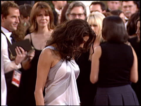 teri hatcher at the 2005 golden globe awards at the beverly hilton in beverly hills, california on january 16, 2005. - teri hatcher stock videos & royalty-free footage