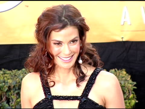 Teri Hatcher at the 2005 Screen Actors Guild SAG Awards Arrivals at the Shrine Auditorium in Los Angeles California on February 5 2005