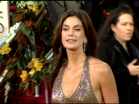 teri hatcher at the 2006 golden globe awards arrivals at the beverly hilton in beverly hills california on january 16 2006 - teri hatcher stock-videos und b-roll-filmmaterial