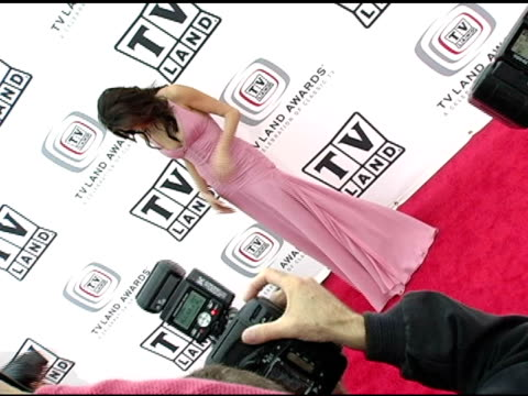 Teri Hatcher at the 3rd Annual TV Land Awards Arrivals at Santa Monica Airport in Santa Monica California on March 13 2005