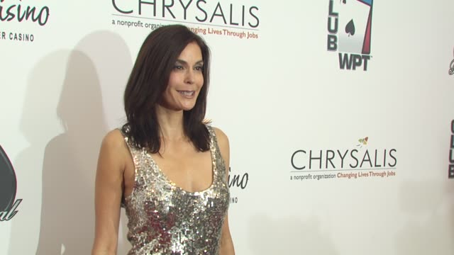 Teri Hatcher at the 8th Annual WPT Invitational at City of Commerce CA