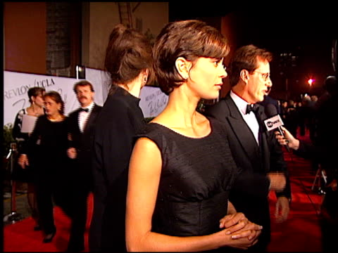 Teri Hatcher at the Fire and Ice Ball at Warner Brothers Studios in Burbank California on October 17 1996