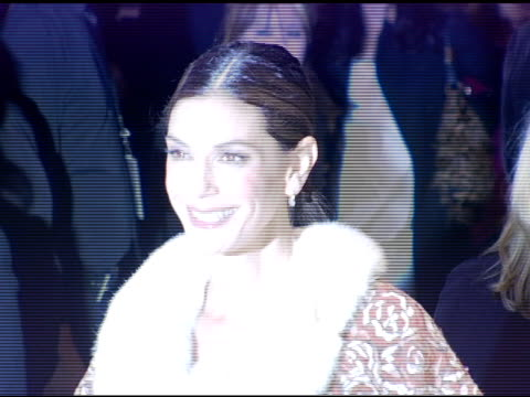 teri hatcher at the opening celebration of gregory colbert's 'ashes and snow' exhibition arrivals at the nomadic museum in santa monica, california... - teri hatcher stock videos & royalty-free footage