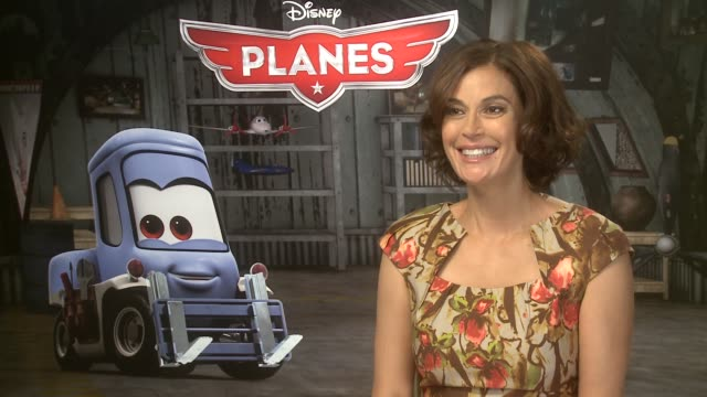INTERVIEW Teri Hatcher on her excitement when asked to work on the movie and her love of Disney at Mandarin Oriental Hyde Park on July 31 2013 in...