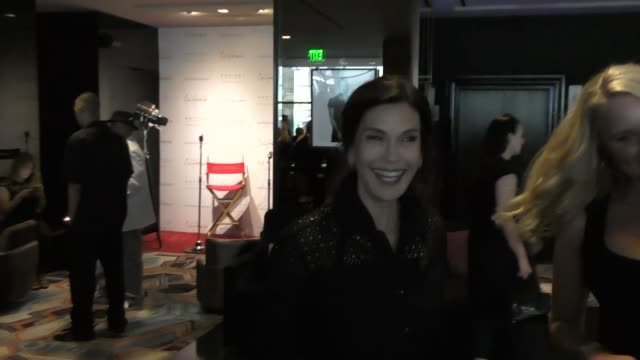INTERVIEW Teri Hatcher on if she is a good poker player at The 4th Annual 'Ante Up For A Cancer Free Generation Poker Tournament and Casino Night' at...