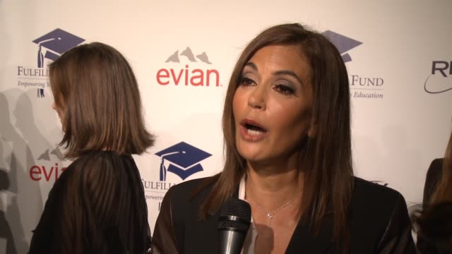INTERVIEW Teri Hatcher on The Fulfillment Fund how she and her daughter have supported them at The 20th Annual Fulfillment Fund STARS Benefit Gala...
