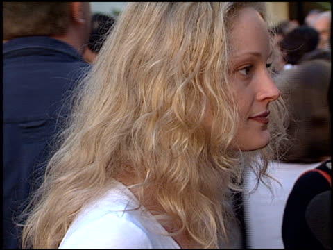 teri polo at the premiere of 'the score' at paramount studios in hollywood california on july 9 2001 - paramount studios stock videos and b-roll footage