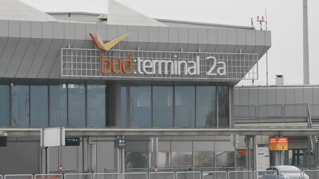 HUN: Budapest Airport Amid Coronavirus Pandemic