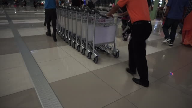 terminal 3 soekarno hatta international airport - placard stock videos & royalty-free footage