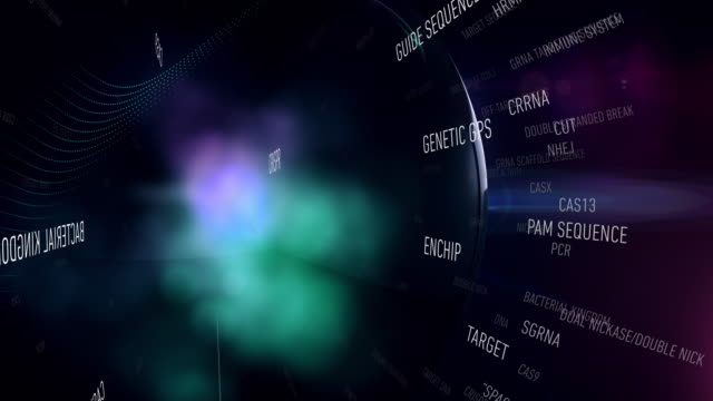 crispr terms - molecular structure stock videos & royalty-free footage