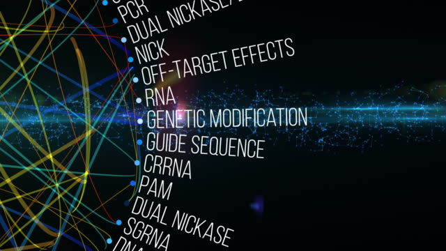 crispr terms - biochemistry stock videos & royalty-free footage