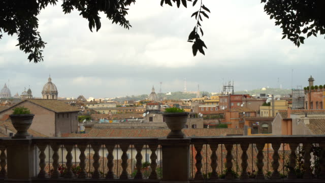 Terrace with Skyline Rome