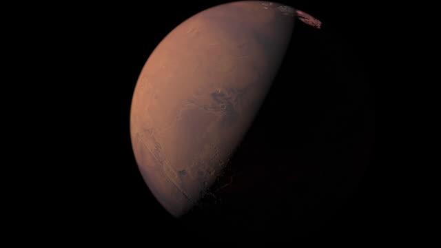 terraform transformation of mars - science fiction film stock videos & royalty-free footage