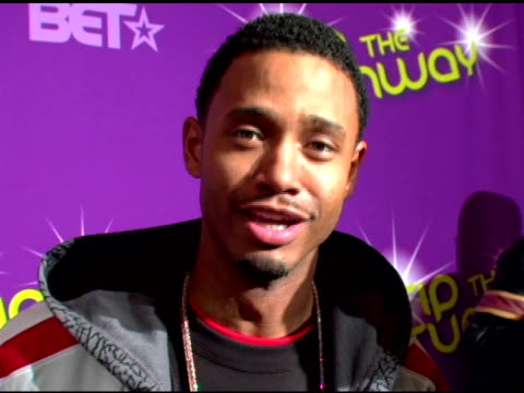 terrance from bet's 106 and park on why a show like this is important for fashion and some of the performances that he was hoping to catch at the... - black entertainment television bildbanksvideor och videomaterial från bakom kulisserna