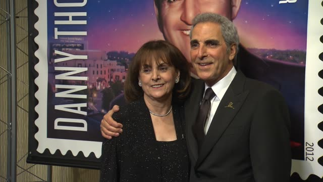 terre thomas and tony thomas at st jude children's research hospital 50th anniversary gala benefit on 1/7/2012 in beverly hills ca - st. jude children's research hospital stock videos and b-roll footage