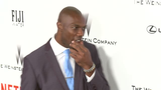 Terrell Owens at the 2015 Weinstein Company And Netflix Golden Globe After Party at Robinsons May Lot on January 11 2015 in Beverly Hills California