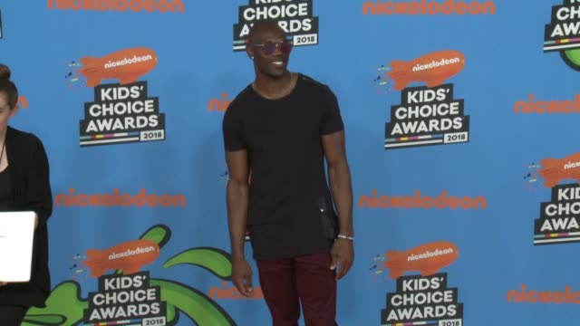 terrell owens at the nickelodeon's 2018 kids' choice awards at the forum on march 24 2018 in inglewood california - 31st annual nickelodeon kids' choice awards stock videos and b-roll footage