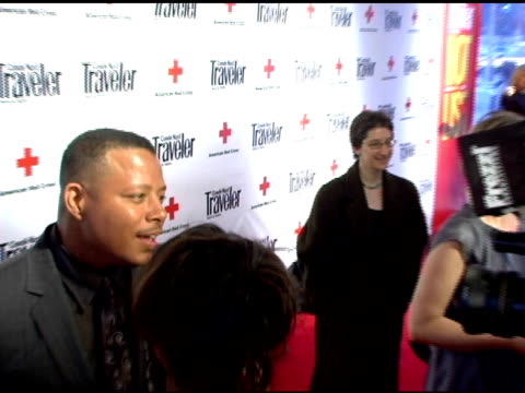 terrence howard and cynthia nixon at the 2007 conde nast traveler hot list party arrivals at the bowery hotel in new york new york on april 19 2007 - cynthia nixon stock videos and b-roll footage