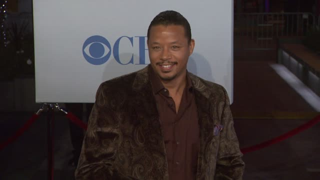 terrence howard at 2012 people's choice awards arrivals on 1/11/12 in los angeles ca - terrence howard stock videos and b-roll footage