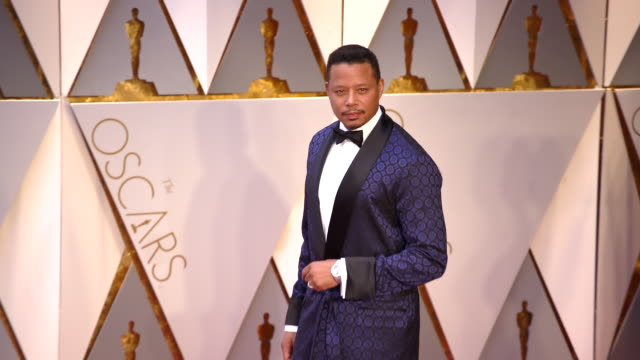 terrence howard at 89th annual academy awards arrivals at hollywood highland center on february 26 2017 in hollywood california 4k - terrence howard stock videos & royalty-free footage