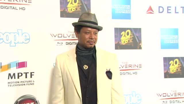 terrence howard at hugh jackman one night only debuts at the dolby theatre benefiting mptf on 10/12/13 in los angeles ca - terrence howard stock videos & royalty-free footage