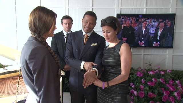 terrence howard at piaget at the 2012 film independent spirit awards on 2/25/12 in los angeles, ca - independent feature project stock videos & royalty-free footage