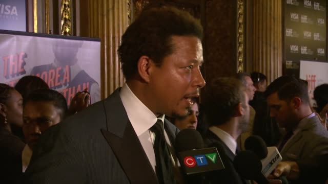terrence howard at prisoners premiere 2013 toronto international film festival on 9/6/2013 in toronto canada - terrence howard stock videos & royalty-free footage