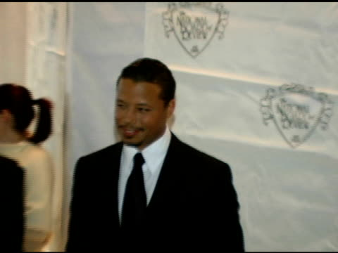 terrence howard at the 2005 national board of review of motion pictures awards ceremony at tavern on the green in new york new york on january 10 2006 - tavern on the green stock videos & royalty-free footage