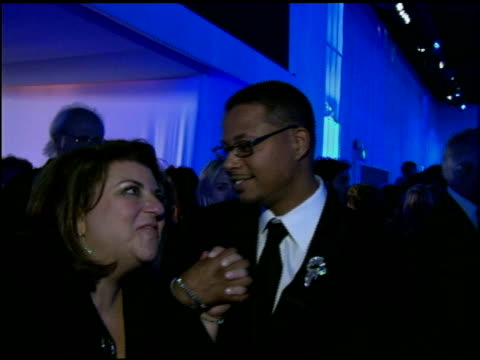 terrence howard at the 2006 academy awards governor's ball at the kodak theatre in hollywood, california on march 5, 2006. - terrence howard stock videos & royalty-free footage