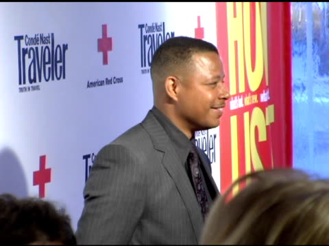 terrence howard at the 2007 conde nast traveler hot list party arrivals at the bowery hotel in new york, new york on april 19, 2007. - terrence howard stock videos & royalty-free footage