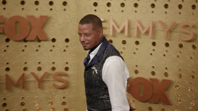 terrence howard at the 71st emmy awards - arrivals at microsoft theater on september 22, 2019 in los angeles, california. - terrence howard stock videos & royalty-free footage