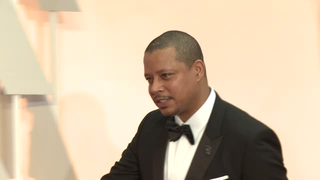 terrence howard at the 87th annual academy awards arrivals at dolby theatre on february 22 2015 in hollywood california - terrence howard stock videos & royalty-free footage