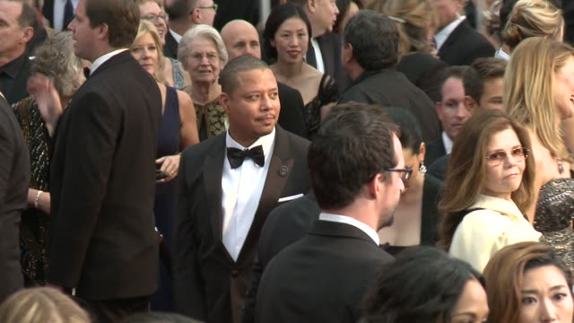 terrence howard at the 87th annual academy awards - arrivals at dolby theatre on february 22, 2015 in hollywood, california. - terrence howard stock videos & royalty-free footage