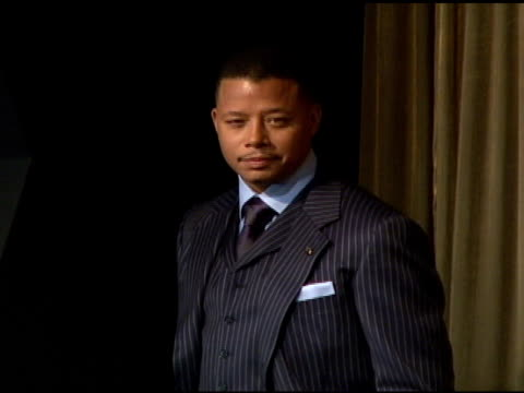 terrence howard at the announcement of nominees for 2008 screen actors guild sag awards at pacific design center in west hollywood california on... - terrence howard stock videos and b-roll footage