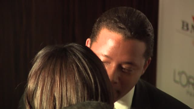 terrence howard at the clive davis' pregrammy awards party arrivals at the beverly hilton in beverly hills california on february 7 2006 - terrence howard stock videos & royalty-free footage