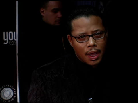 vídeos de stock, filmes e b-roll de terrence howard at the dons and diva's black party hosted by mary j blige and presented by wendy williams at crobar in new york, new york on december... - crobar