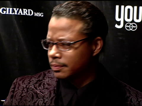 terrence howard at the dons and diva's black party hosted by mary j blige and presented by wendy williams at crobar in new york, new york on december... - terrence howard stock videos & royalty-free footage