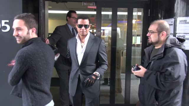 terrence howard at the 'good day new york' studio in new york ny on 3/7/13 - terrence howard stock videos and b-roll footage