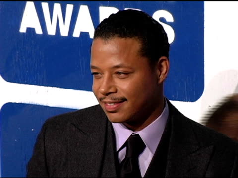 terrence howard at the ifp's 15th annual gotham awards arrivals at pier 60 at chelsea piers in new york new york on november 30 2005 - chelsea piers stock videos & royalty-free footage