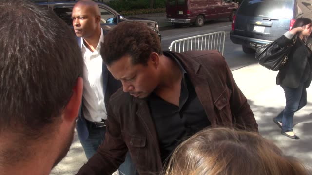 terrence howard at the 'katie' studio terrence howard at the 'katie' studio on september 19 2013 in new york new york - terrence howard stock videos & royalty-free footage