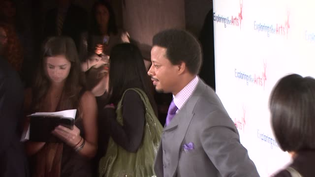 terrence howard at the susan bennett and tony bennett host their exploring the arts gala at new york ny - terrence howard stock videos and b-roll footage