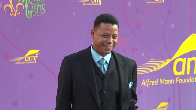 Terrence Howard at the The Alfred Mann Foundation's Annual BlackTie Gala at Santa Monica CA