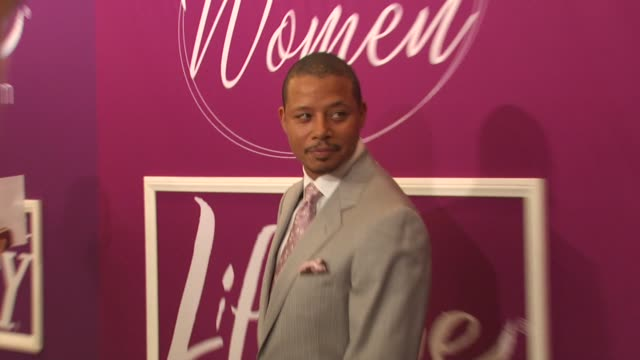 terrence howard at the variety's 1st annual power of women luncheon at beverly hills ca - terrence howard stock videos & royalty-free footage