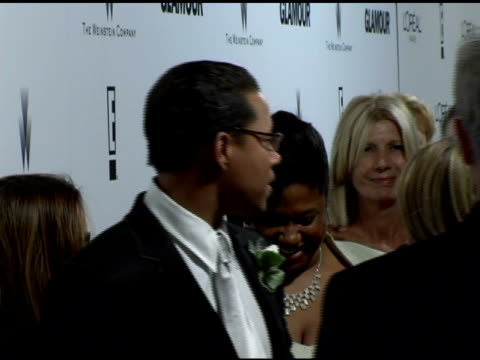 terrence howard at the weinstein company and glamour magazine 2006 golden globes party at trader vic's in beverly hills california on january 16 2006 - terrence howard stock videos and b-roll footage