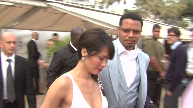 terrence howard at the winnie cocktail party: cannes film festival 2010 at cannes . - terrence howard stock videos & royalty-free footage
