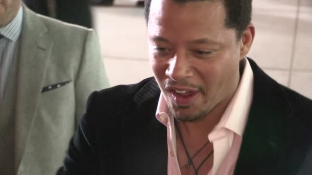 terrence howard greets fans at the dead man down premiere in hollywood 02/26/13 - terrence howard stock videos and b-roll footage