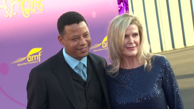 Terrence Howard Lisa Kirk Colburn at the The Alfred Mann Foundation's Annual BlackTie Gala at Santa Monica CA